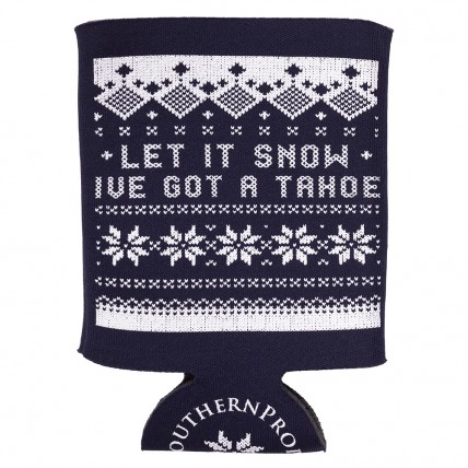 "Blue ""Tacky Christmas Sweater"" Coozie"